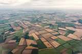 Aerial Picture  State of Brandenburg  Fields
