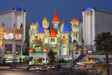 Excalibur Hotel  Strip  South Las Vegas Boulevard  Las Vegas  Nevada  Usa