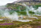 Iceland  Geothermal Field  Geyser