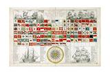 Tableau De Tous Pavillions or Flagsheet 1793