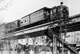 9th Avenue Elevated Railroad  New York