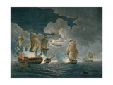 The Memorable Engagement of Captn Pearson of the Serapis with Paul Jones of the Bon Homme Richard