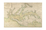 Map of the Chesapeake Bay  1778