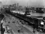 Light Street  Baltimore  Maryland 1924