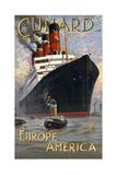 Cunard - Europe America