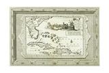 Florida En Virginie Door Lucas Vasquez D' Ayllon En Andere  Van Hispaniola Besterend 1714-1728