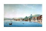 Vue De La Partie Occidentale Du Village De Buyuk-Déré Ca 1803-1809