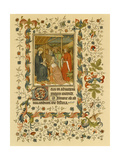 Illuminated Manuscript: Hours of the Virgin and Other Offices