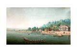 Vue De La Partie Central De Buyuk-Déré Ca 1803-1809