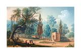 Fontaine De Sari-Yéri Pres Buyuk-Déré Ca 1803-1809