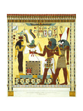 Tableau in the Tomb of Psammuthis  When Hero Is Represented to the God Osiris