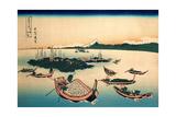 Buyo Tsukuda-Jima - Tsukuda Island in Musashi Province