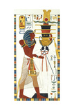 Tomb of Psammuthis: Psammuthis and Amun-Ra