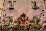 Italy  Veneto  Lake Garda  Torri Del Benaco  Old Town  House Facade  Madonna