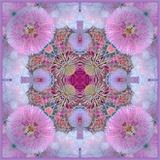 Ornamental Blossoms Mandala