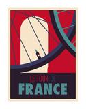 Tour de France Reproduction d'art par Spencer Wilson