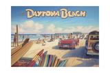 Daytona Beach Reproduction d'art par Kerne Erickson