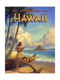 Aloha Hawaï Reproduction d'art par Kerne Erickson