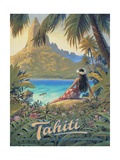Tahiti Reproduction d'art par Kerne Erickson