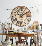 Alleghany Oversized Wall Clock