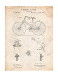Bicycle 1890 Patent