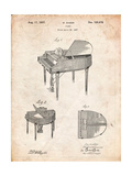 Wurlitzer Butterfly Model 235 Piano Patent