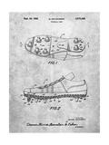 Football Cleat Patent Print
