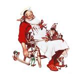 Santa and Helpers
