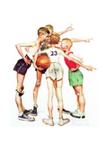Four Sporting Boys: Basketball
