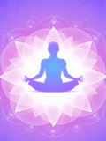 Purple Yoga Faith Meditation