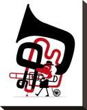 Bring the Noise 03 Tableau sur toile par Spencer Wilson