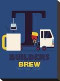 Builders Brew Tableau sur toile par Spencer Wilson