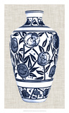 Blue & White Vase IV