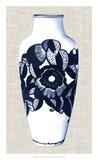 Blue & White Vase III