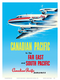 Far East & South Pacific - Canadian Pacific Airlines