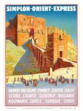 Syria - Simplon Orient Express - Citadel of Aleppo
