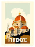 Florence (Firenze) Italy - Santa Maria del Fiore Cathedral  the Duomo of Florence