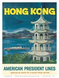 Hong Kong - Fragrant Harbour - American President Lines