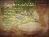 John 6:35 I am the Bread of Life (Grapes)