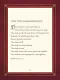 Les Dix Commandements Giclée par The Inspirational Collection