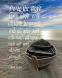 Mark 12:30 Love the Lord Your God (Boat)