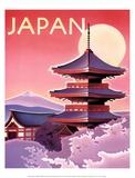Japon Reproduction d'art par Ignacio Zabaleta