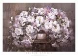 Bouquet de pétunias Reproduction d'art par Victor Santos
