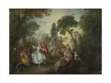 La Camargo Dancing  1730