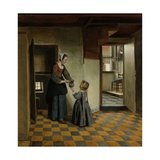 Woman with a Child in a Pantry  C 1656-60