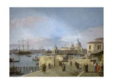 Entrance to the Grand Canal from the Molo  Venice  1742-44
