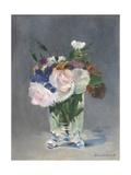 Flowers in a Crystal Vase  1882