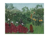 Tropical Forest with Monkeys  1910