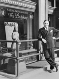 George Preston Marshall  Owner of Washington Redskins at the Clubs Offices in 1940
