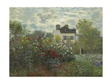The Artist's Garden in Argenteuil  1873